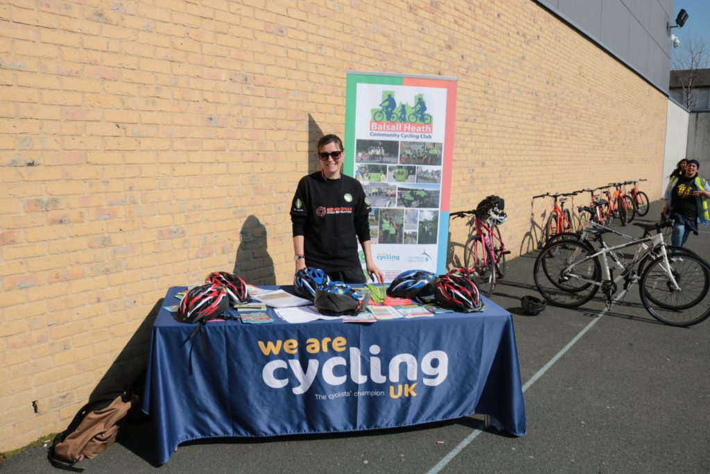 photo of We Are Cycling stall